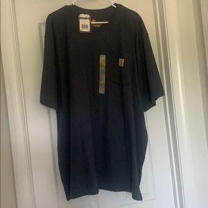Men's Carhartt Original Fit Navy Shirt